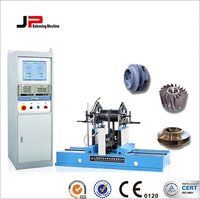 Centrifugal, Multistage Pump Impeller, Blower Fan Wheel, Motor Rotor Belt Drive Balancing Machine