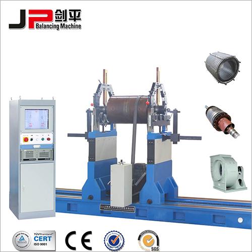 Large-Sized Industrial Fan Impeller, Generator Motor Rotor, Large Rotor Belt Drive Balancing Machine