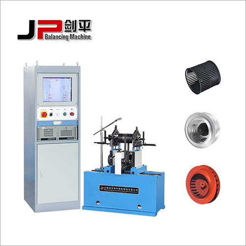 Blower Wheel, Centrifugal Fan Impeller, Plastic Fan Wheel Belt Drive Balancing Machine