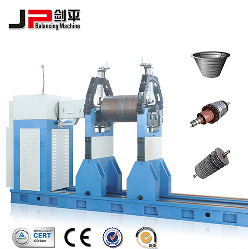 Turbine Rotor, Rubber Roller, Drying Cylinder Universal Joint Drive Balnacing Machine