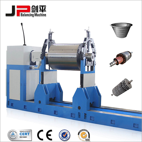 Paper Mill Roller, Generator Rotor, Alternator Rotor Universal Joint Drive Balnacing Machine