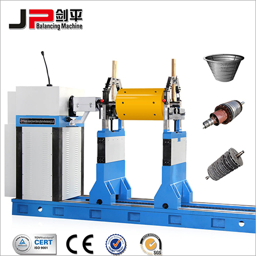 Multistage Pump Impeller Joint Drive Balancing Machine