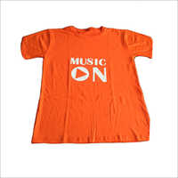 Mens Printed Round Neck Kids T-Shirts