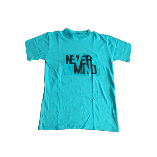 Mens Designer Print Round Neck T-Shirts