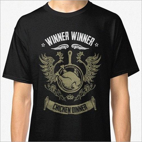 Mens Round Neck T-Shirts
