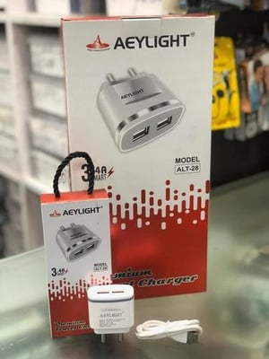 Aeylight Dual USB Charger