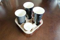 Bagasee Sugarcane Cup Tray