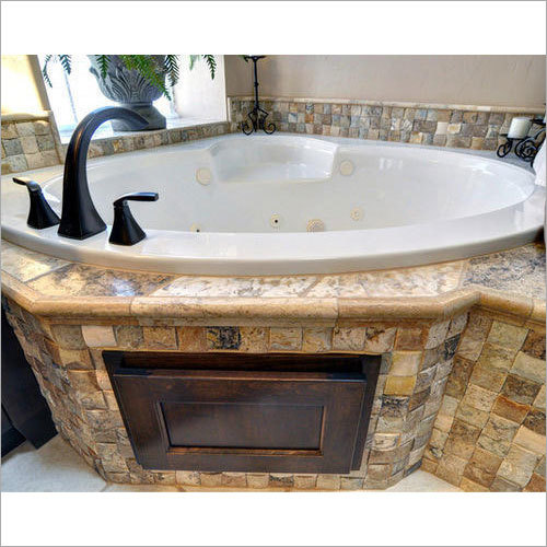 white Jacuzzi Bathtub