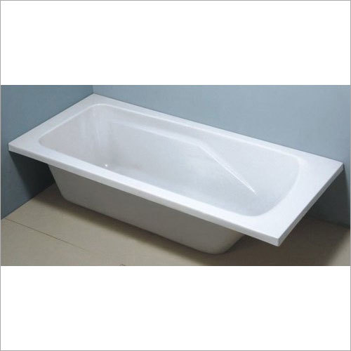 White Acrylic Bathtub