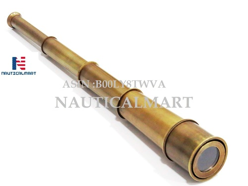 B00LY8TWVA Nautical Brass Spy Glass Telescope 18