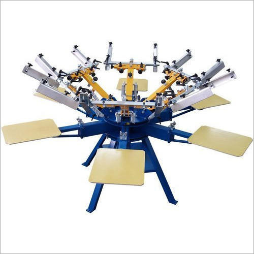 6 Head Screen T-Shirt Printing Machine