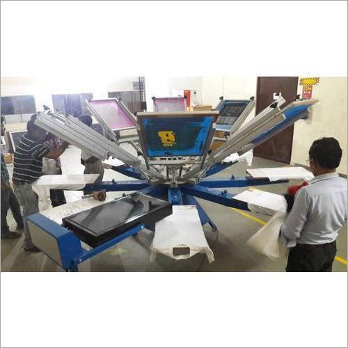 Manual Automatic T-Shirt Screen Printing Machine