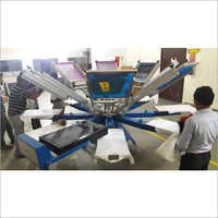 Manual Automatic T-Shirt Screen Printing Machine