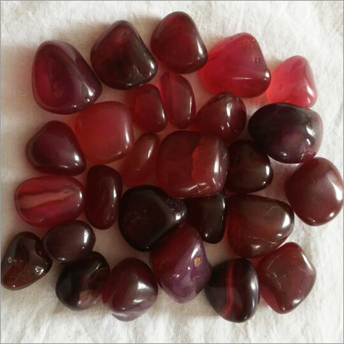 Rubby Colour Onyx Pebbles