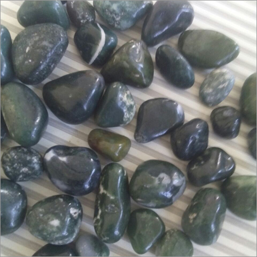 Dark Green Polished Pebbles