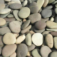 Natural Flat River Pebbles