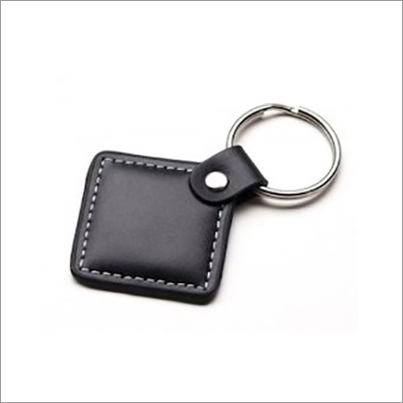 Plain Leather Key chain