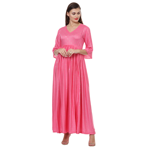 TAFFY PINK FOIL LADIES GOWN