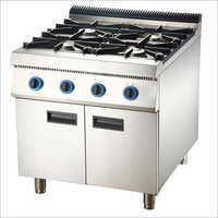 Commercial Four Burner Gas Stove