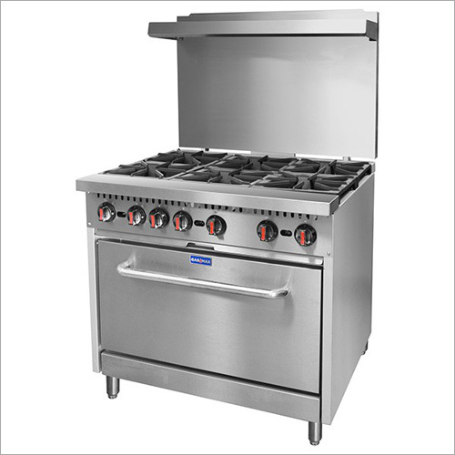 Commercial 6 Burner Gas Stove