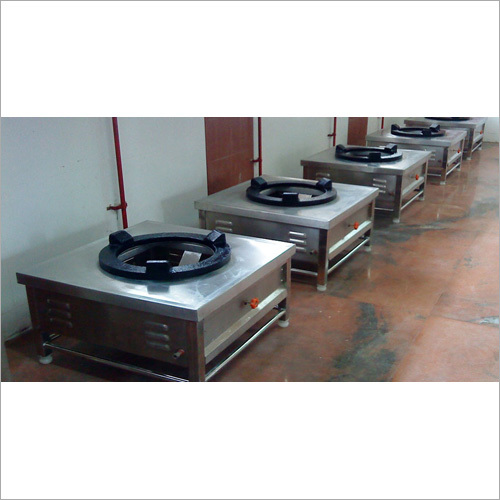 Commercial SS Single Gas Stove Burner