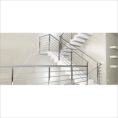SS Designer Stair Railing