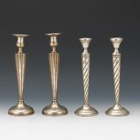 Pure Brass Candle Holder Set