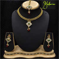 Artificial Beaded Necklace Set