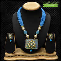 Party Wear Artificial Necklace Set
