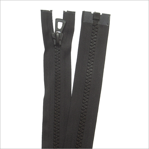 Fiber Black Zipper