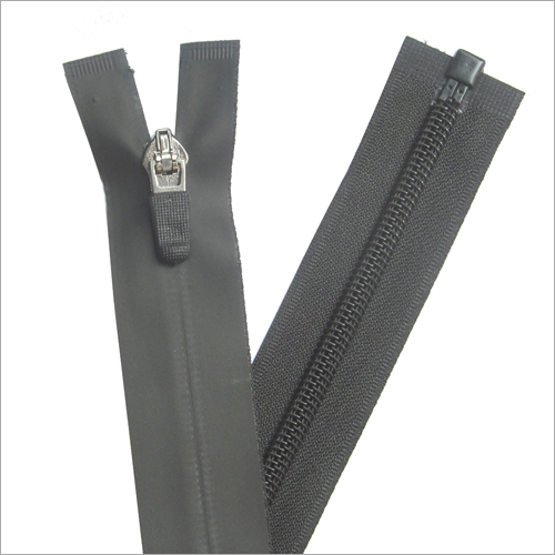 Open End PU Zipper