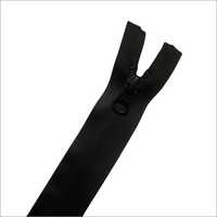 Reverse PU Zipper