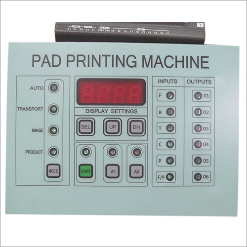 Pad printing Control Panel