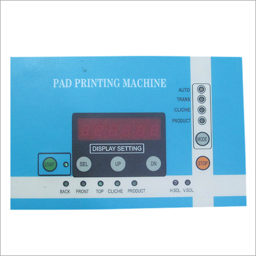 Pad Printing Machine Control Card Display
