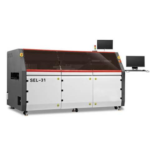 Online Single Head Selective Wave Soldering Machine