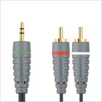 3.5mm X 2 RCA Cable
