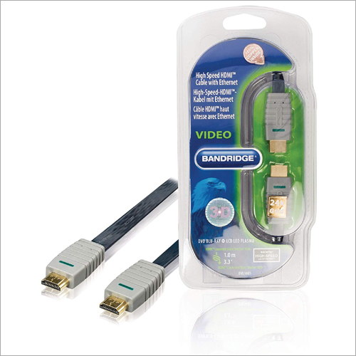 1 m Flat HDMI + ETH Cable