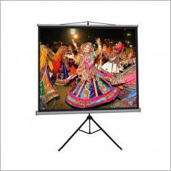 84 inch Tripod Projector Screen