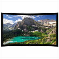 92 Inch Curved Fixed Frame Projector Screen
