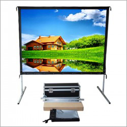 92 inch Easy Fold Projector Screen