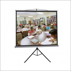 100 inch Tripod Projector Screen