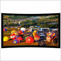 77 inch Curved Fixed Frame Projector Screen