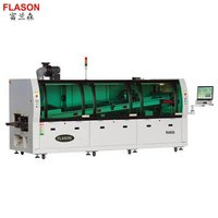 350MM width PCB Production wave soldering machine N450