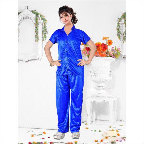 Ladies Plain Night Suit