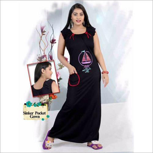 Ladies Sinker Pocket Nighty