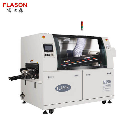 Wave Soldering Machine with Flux sprays system N250