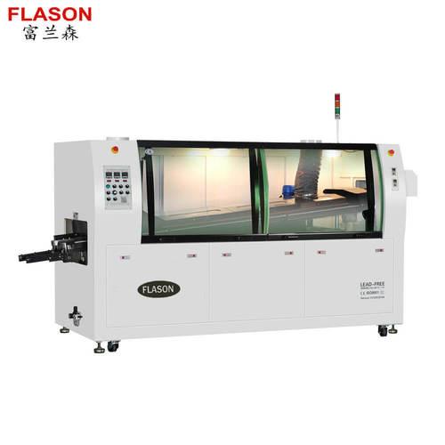 3 heating Zones Lead Free wave soldering machine N300