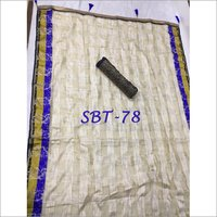Latest Jacquard Organza Checks Saree
