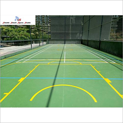Basketball Acrylic Flooring