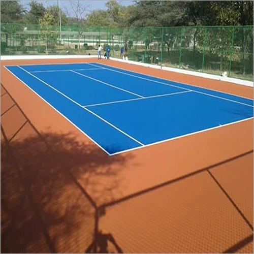 Single Tennis Court Flooring
